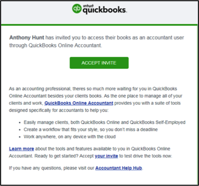 How to Add Clients to Quickbooks Online Accountant (No