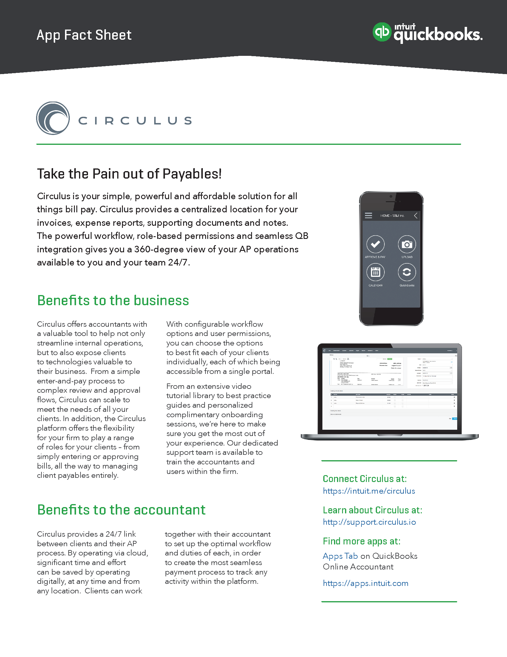 app fact sheet circulus