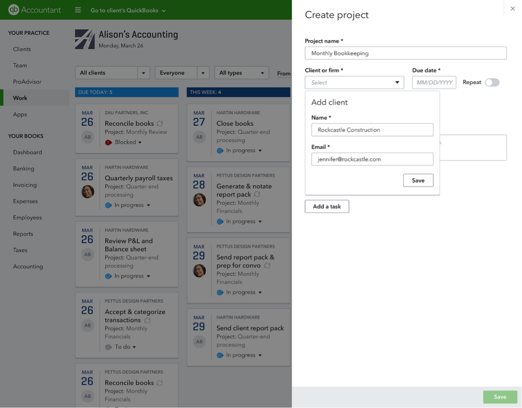 QuickBooks Online New Features and Improvements - March 2018