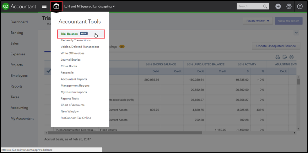All Your Work, All in One Place: Trial Balance in QuickBooks