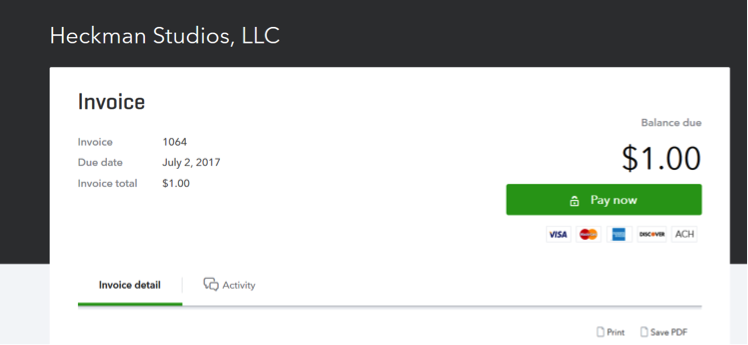 You can do WHAT in QuickBooks? Invoicing