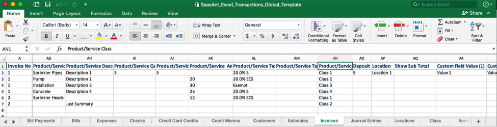 Moving Big Data with SaasAnt Excel Transactions