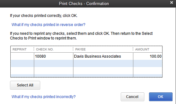 picture relating to Quickbooks Printable Checks referred to as Print Tests within just QuickBooks: Accounting How Towards
