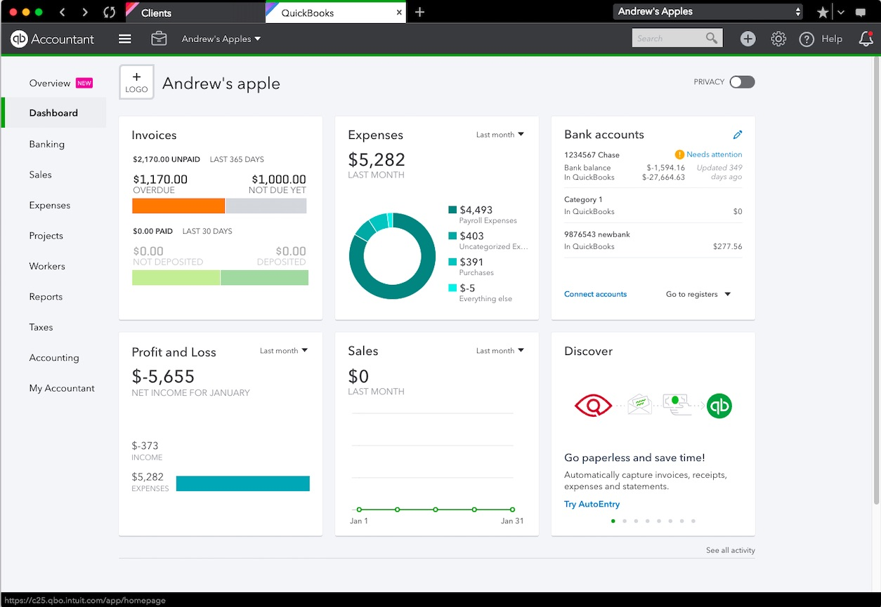 Quickbooks Online New Features And Improvements February 2019
