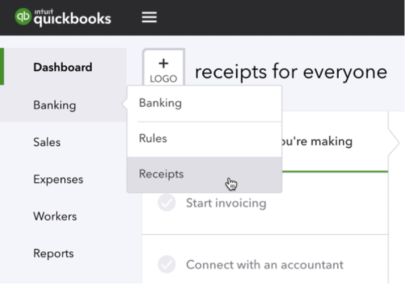 QuickBooks can do WHAT? Receipt Capture - Firm of the Future