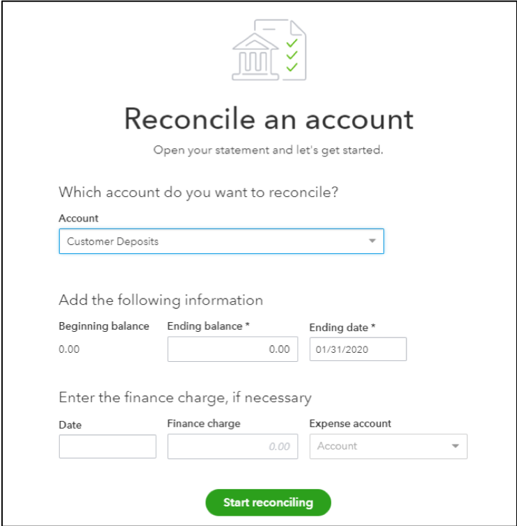 Customer Deposits in QuickBooks Online